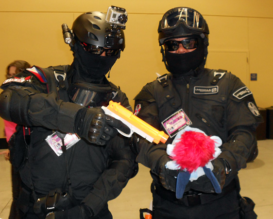 Umbrella Corporation, taking excessive precautions to isolate the outbreak