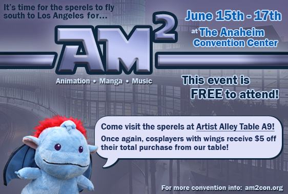 AM2Con Artist Alley promo flyer