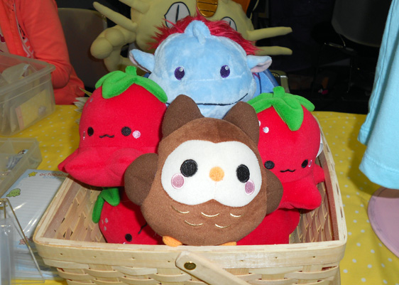 Cute Plushie Alliance - Sperel + Owl + Octofuits