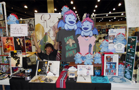 Anime Expo Stands : Sperel save the sperels