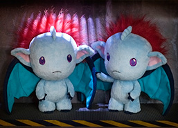 Plushie Cuteness! Two sperel plushies are so cute together!