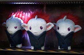 Cute Plushie Trio - The Sperel Plushies of Flock #002